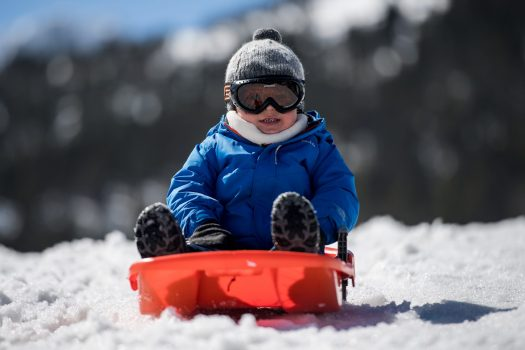 Enjoying the first steps on the snow. The continuity of Grandvalira guaranteed for the long term with the addition of Ordino Arcalís to their skiing experience. - Photo: Grandvalira.