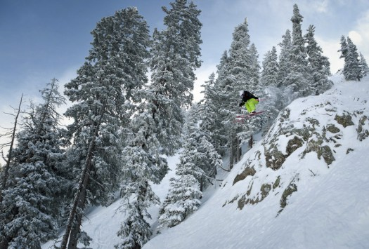 Skiing in Taos. Photo: Ski Taos. Taos Regional Airport Launches Taos Air – an Air Service to Dallas, Austin.