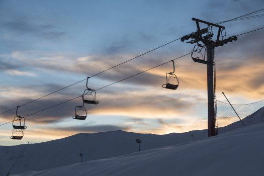 The ski resort Gudauri is rebuilding one lift and adding six new lifts by Doppelmayr and Poma. Photo: Mountain Resorts of Georgia.