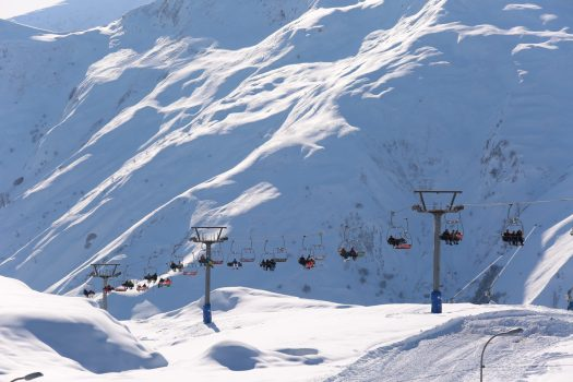 Georgia's Gudauri is getting an uplift, with a rebuilt lift, and six new lifts from Doppelmayr and Poma. Photo: Mountain Resorts of Georgia.