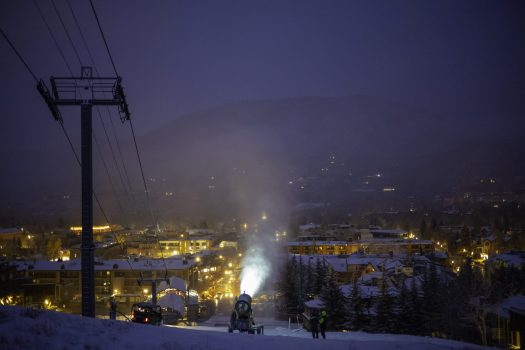 Photo:  Dan Bayer. Aspen Skiing Company. Alterra expects to sell 250,000 Ikon ski passes while Vail Resorts Epic Pass sales are up thanks to the $99 military pass.