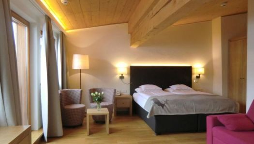 A double room at the Almhof Schneider. Photo: Almhof Schneider. The Must-Read Guide to Lech.