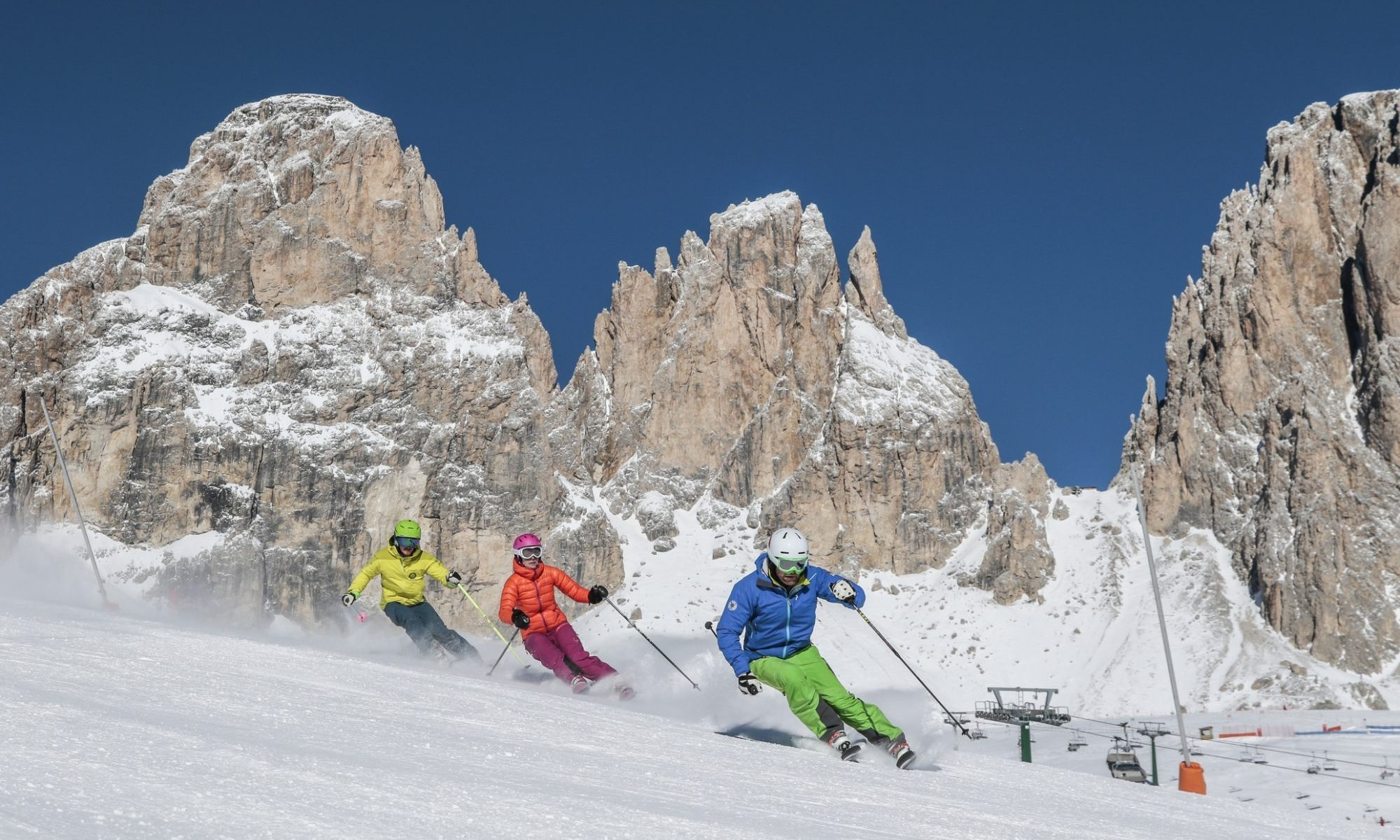 Val di Fassa is ready and opening its lifts on December 6th. Photo Federico Modica. APT Val di Fassa.