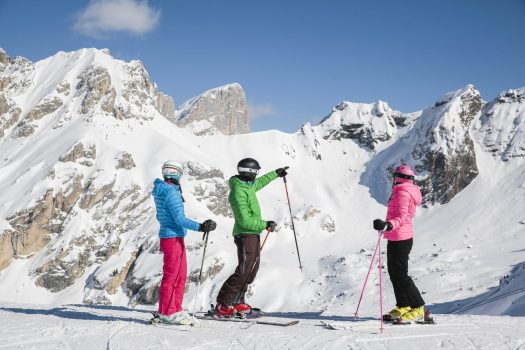 Val di Fassa is ready and opening on 6th December. Photo Federico Modica. APT Val di Fassa.