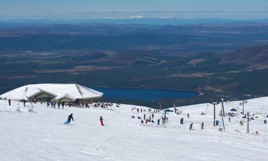 Cairngorm Mountain will still open but will have only three surface lifts in the bottom, which carry much less skiers/hour if the funicular does not open this coming season.