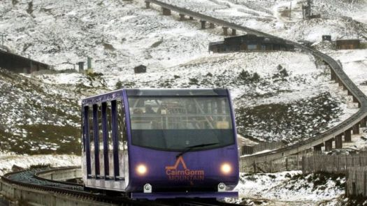Cairngorms funicular. Different types of lifts on resorts (I can think of) and how to ride them.