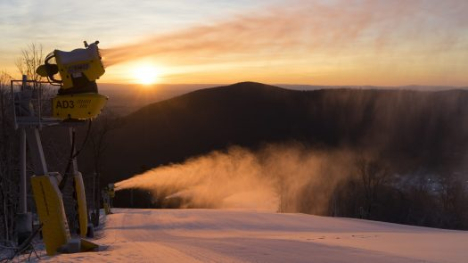 Snowmaking. Photo: Peak Resorts. Peak Resorts Completes Acquisition of Snow Time.