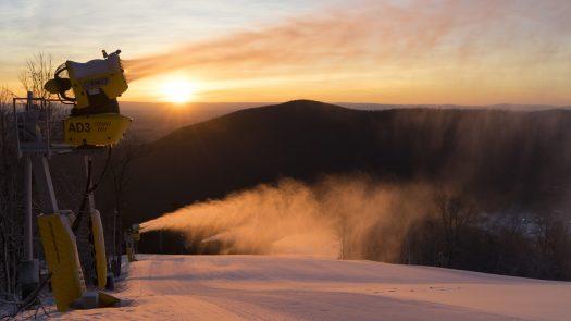 Snowmaking. Photo: Peak Resorts. Vail Resorts to Acquire Peak Resorts, Owner Of 17 U.S. Ski Areas.
