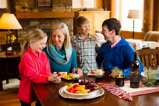 Families get together after skiing - Photo: Jackson Hole Mountain Resort. You think Jackson Hole is only for Expert or Extreme Skiers? Think again.