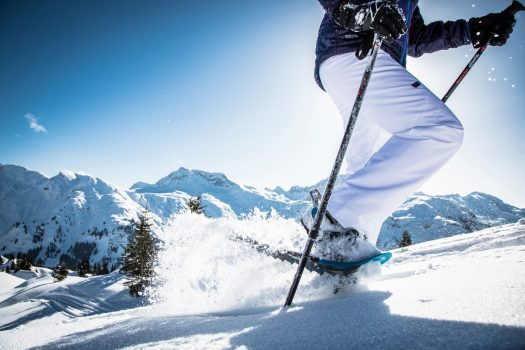 Snowshoeing at Lech Zürs am Arlberg. Photo by Christoph Schoeche. Lech Zürs Tourismus. The Must-Read Guide to Lech.