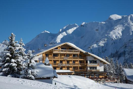 The exterior of the Montana Oberlech. The Must-Read Guide to Lech.