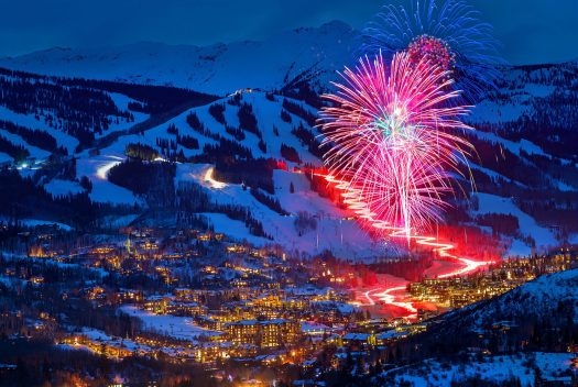Snowmass' fireworks. Snowmass Opens Thanksgiving Day with 570 Acres of Terrain.