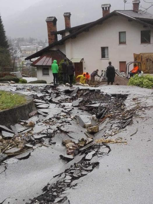 More destruction in Arabba- How the last set of storms caused havoc in Trentino Alto Adige and Belluno provinces.