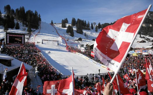 ADELBODEN - Every year the FIS Ski World Cup comes to Adelboden .  Copyright by Adelboden Tourismus By-line: swiss-image.ch/Peter Klaunzer. Adelboden Lenk Kandersteg: What is going on for the 2018-19 ski season.