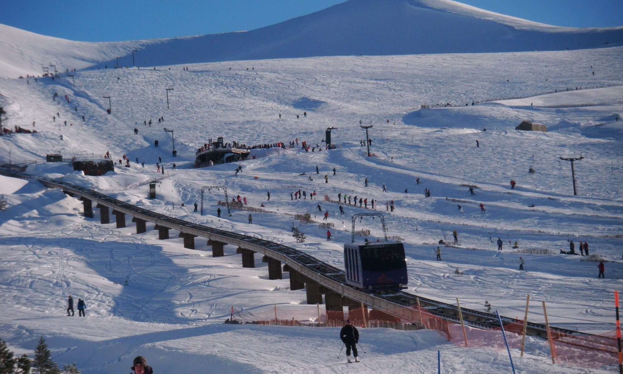 The Cairngorm Mountain's funicular might not open this coming season. Photo: Cairngorm Mountain