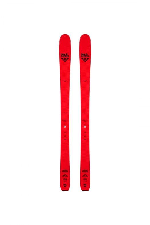 Camox Freebird- top of skis. The new Black Crows skis 2018-19 ski season.