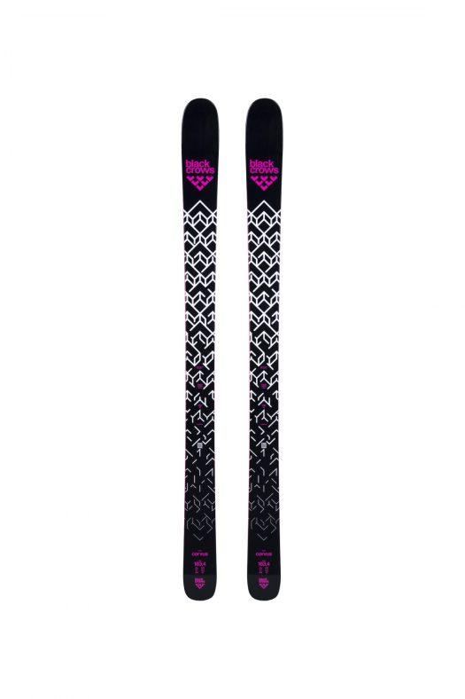 Top of Corvus Ski. Black Crows skis for the 2018/19 ski season.