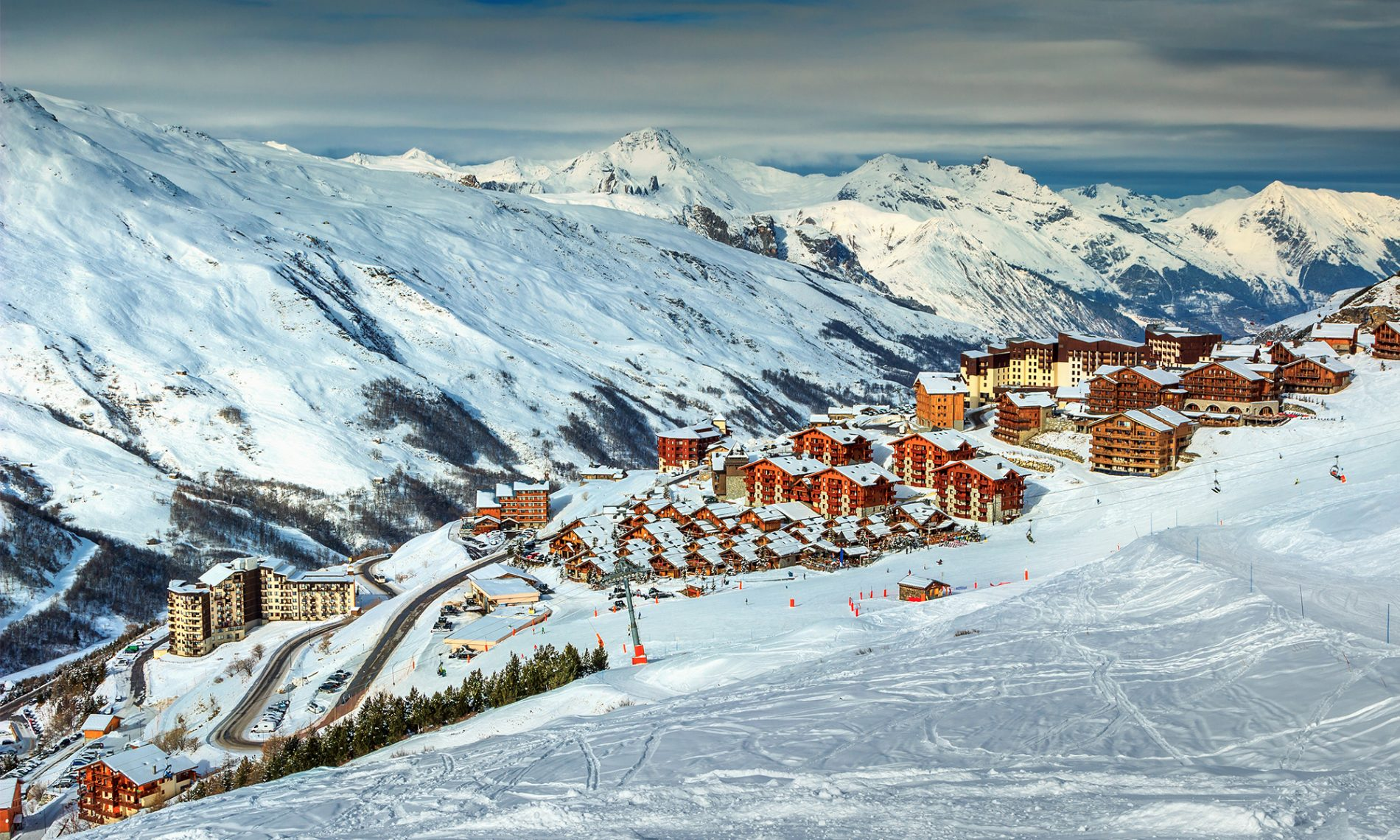 Les 3 Vallées in France. The best ranking resort in the My Vouchers code Best European Ski Resorts ranking. My Voucher Codes ranking of the Best European Ski Resorts 2018.