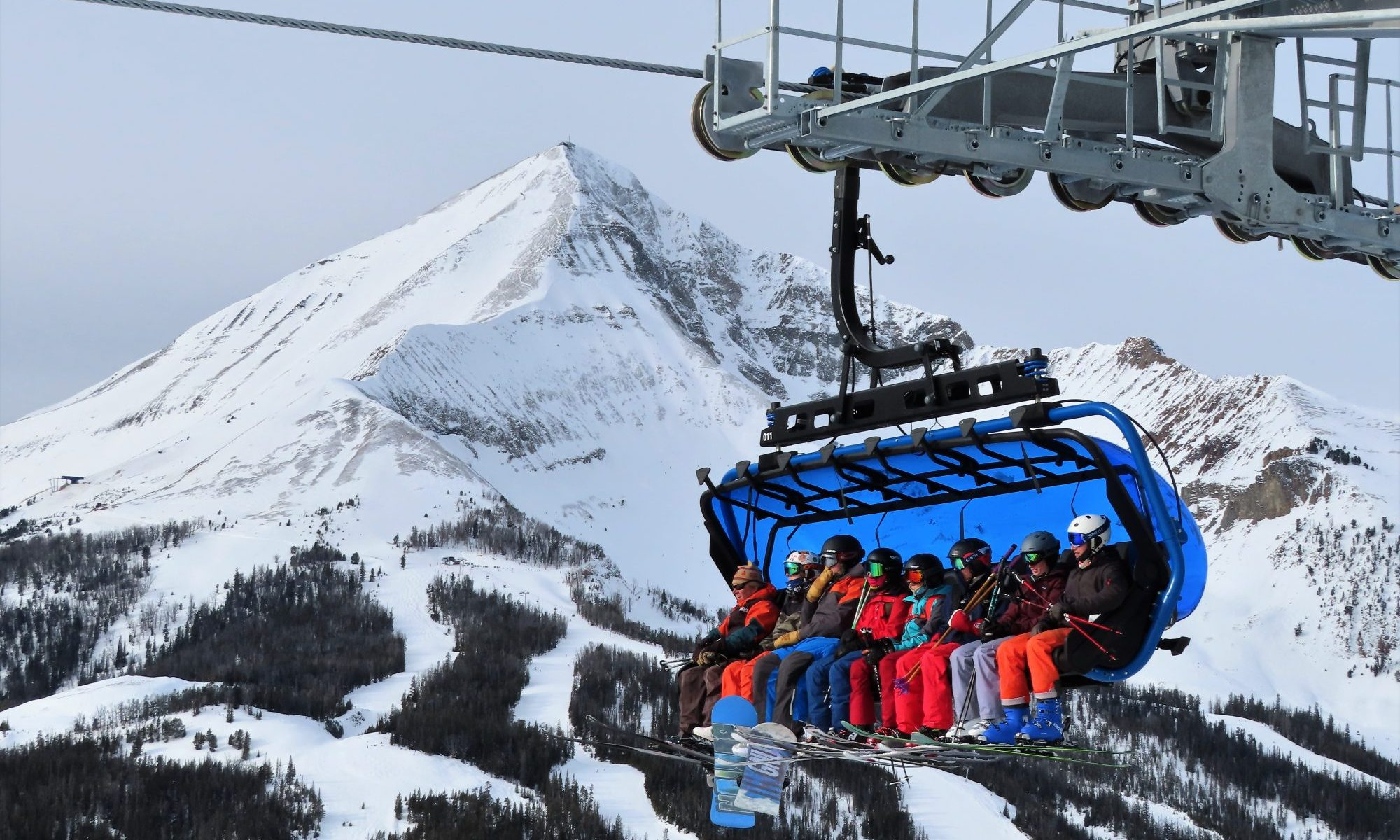Big Sky Montana photo. World's Most Technologically-Advanced Chairlift Debuted at Big Sky Resort.