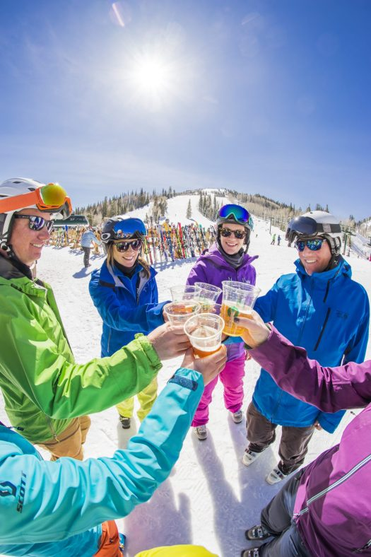 Winter Ski Beach at Deer Valley Resort. Photo: Deer Valley Resort. Deer Valley who was awarded Best US Ski Resort by the World Ski Awards for the sixth year, opens this Saturday December 8th.