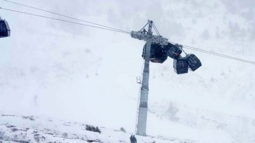 Hochzillertal accident today. A Gondola Accident happened in Hochzillertal today.