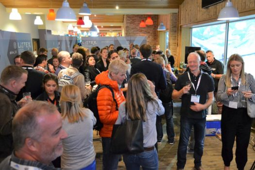 Break during the Listex Forum and Trade Exchange. Listex's State of the UK Snowsports Market Report 2018.