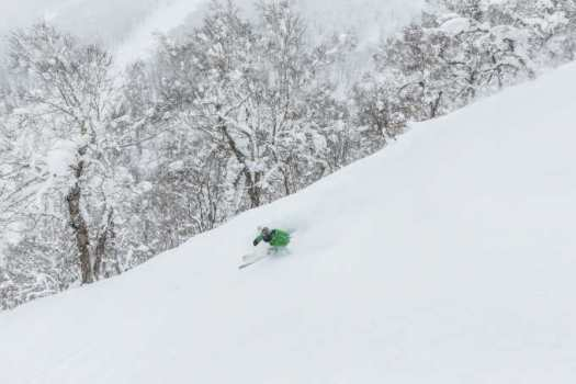 Powder skiing in Rusutsu. Rusutsu, the Japanese Resort joins the EPIC Pass for the 2019-20 ski season.