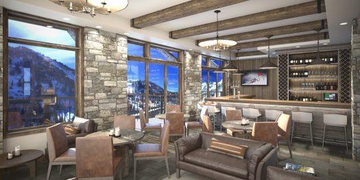 Snowpine Lodge- Bar Final Render. Credit: Snowpine Lodge. Snowpine Lodge Set to Open January 30, 2019.