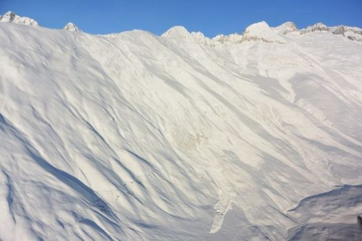 Avalanche - Naters Belalp. Avalanches claimed two lives in Switzerland due to dangerous conditions.