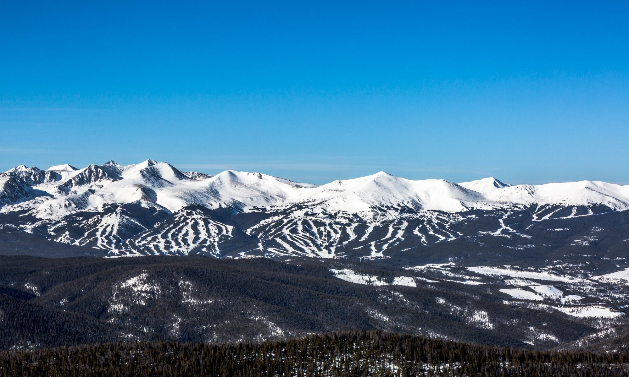 Breckenridge - Peaks 6 to 10- Wideview. Photo by Brent Clark- Breckenridge Ski Resort. Vail Resorts. Breckenridge Ski Resort Announces Plans to Regularly Extend Winter Seasons through Memorial Day, Beginning this Spring.