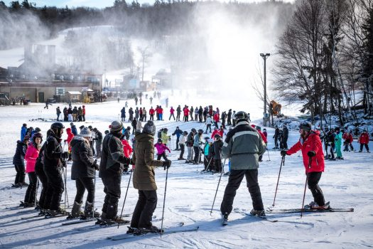 Wachusett Mountain Ski Area. Learn to Ski and Snowboard. First National Learn to Ski and Snowboard Day in the US.