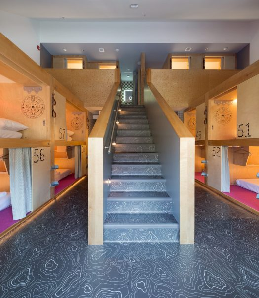 Pods Suite. Wanting to Ski in Whistler but on a Budget? Why not stay at the Pangea Pod Hotel?
