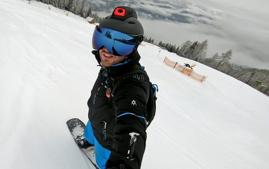 "As a worldwide exclusive, visitors to the Austrian holiday region of Schladming-Dachstein are currently offered the opportunity of trying out the ski and snowboard helmet ""Mohawk"", which is equipped with the latest Augmented Reality (AR) technology. A glance into the future:  First ski and snowboard helmet with Augmented Reality is being tested in Schladming-Dachstein."