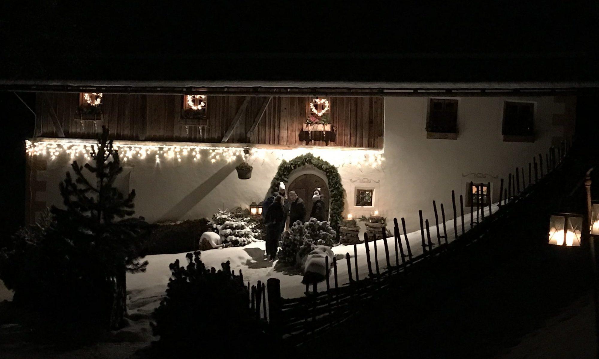 The entrance to the San Lorenzo Lodge - White Deer- Photo: The-Ski-Guru. Spot on White Deer – San Lorenzo Mountain Lodge.