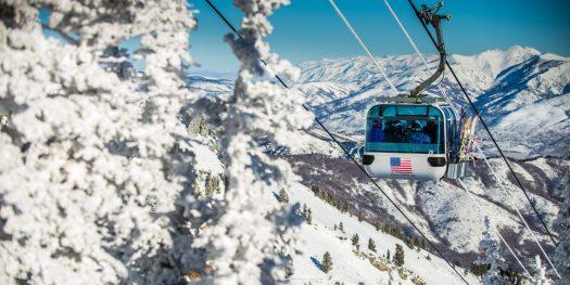 Snowbasin Gondola. Photo courtesy: Snowbasin Mountain Resort. Sun Valley and Snowbasin Join the Epic Pass.