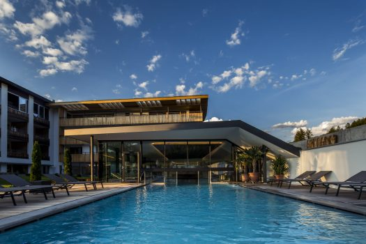 Photo: Hotel Petrus. Outside pool. Book your stay at the Hotel Petrus here. A Must-Read Guide to Summer in South Tyrol