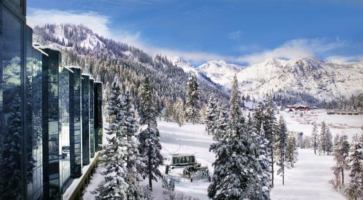 The Resort at Squaw Creek is served by a ski lift just outside the hotel. The Most Expensive Ski Resorts in the USA.