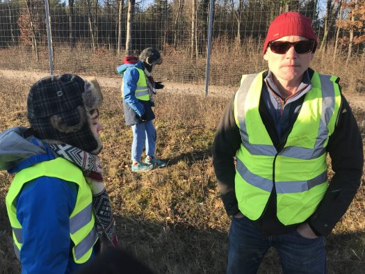 The 'gillets jaunes' by the side of the autoroute. The Half Term Family Ski Holiday that did not result as planned.