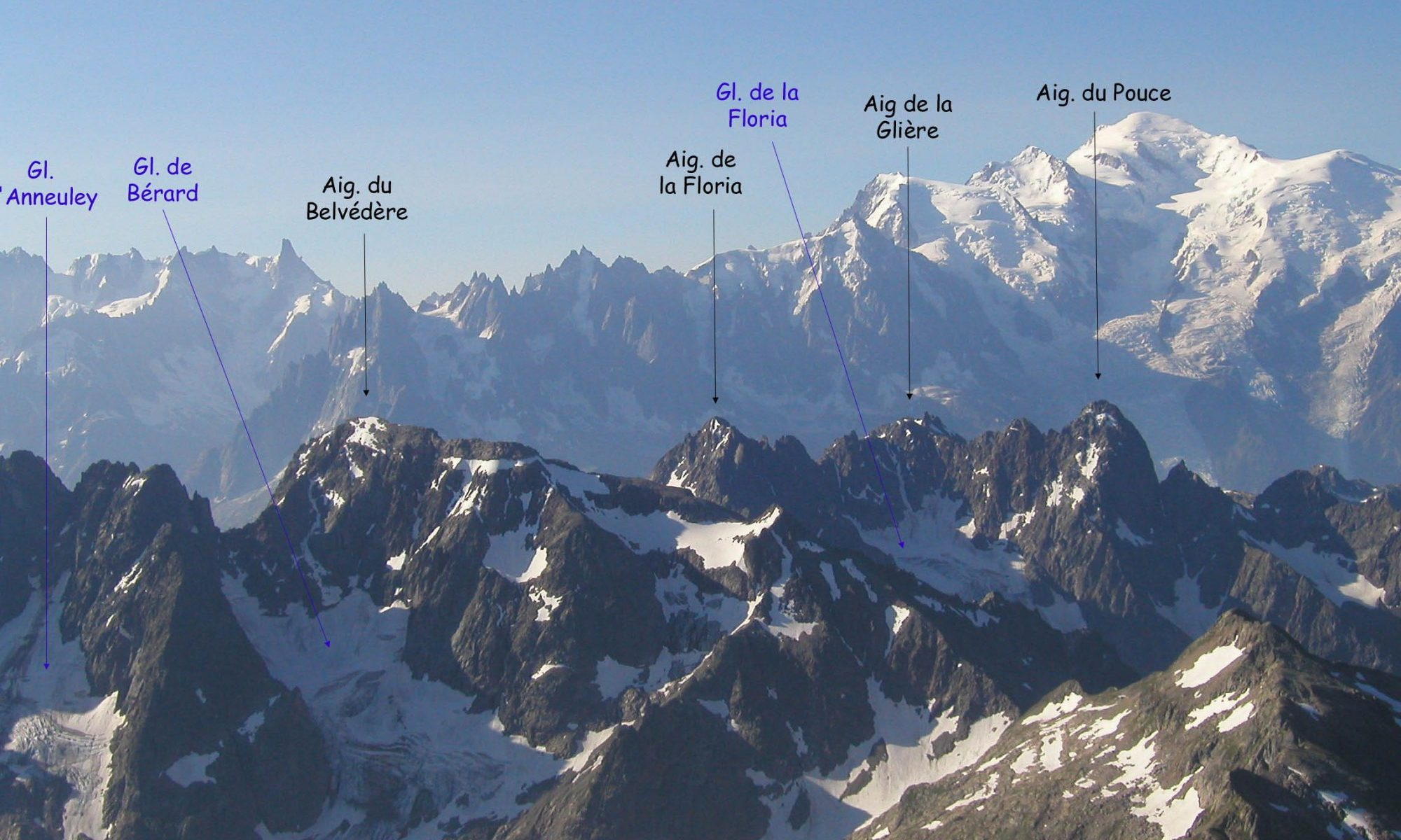 Aiguille Rouges . Photo: AiguilleRouges.blogspot.com- An expert skier killed by an avalanche in the Aiguilles rouges and a snowboarder died on the Alpes Maritimes.