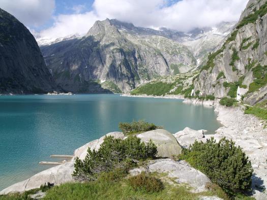Grimsel Pass. Gelmersee - Silsbas photo. A drive through the Nufenenpass (Passo della Novena) and Grimsel Pass in Switzerland.