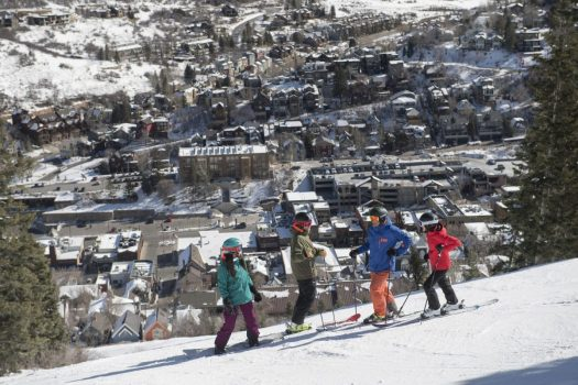 Park City skiing - photo: Scott Markewitz. Vail Resorts. Park City Town. Vail Resorts Announces Pending Sale of Park City Mountain Base Area Site for Mixed-Use Project Development.