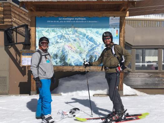 Skiworld raise £15,000 for charity partner, Snow-Camp. Photo: Snow-Camp-Skiworld.