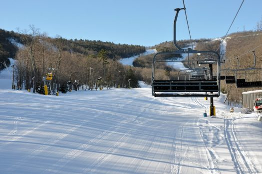 Massanutten Resort in Virginia, one of the partners of the Indy Pass. The Indy Pass will get you skiing for just USD 199 at North America's authentic independent resorts.