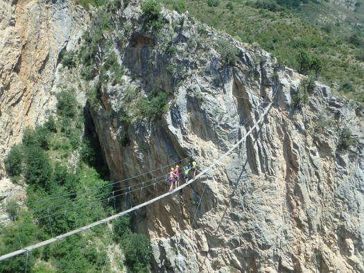 Via Ferrata. Photo: Undiscovered Mountains. The Southern French Alps are the Best Part of the French Alps for Summer Activities.