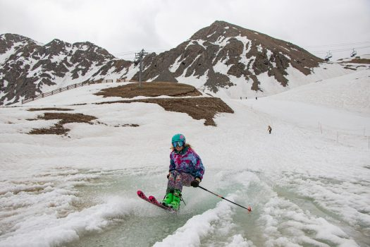 Solstice Skiing at Arapahoe Basin. Photo: Arapahoe Basin Resort. Red, White and Basin: Ski the 4th of July at Arapahoe Basin!