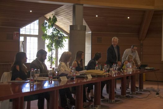 Administrative Council of CETURSA in meeting. Sierra Nevada: Cetursa approves an investment of 10 million for the next season and addresses the installation of a new ski lift. Photo: CETURSA.