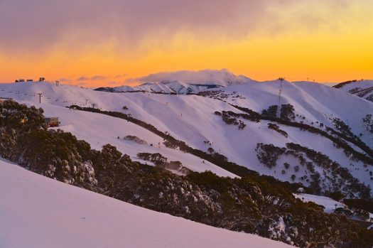 Glorious mountain views at Hotham Alpine Resort to end Autumn & start winter 2019. Epic Australia Pass Now Includes Unlimited, Unrestricted Access to Hotham Alpine Resort with Sales Deadline Extended to 18 June.