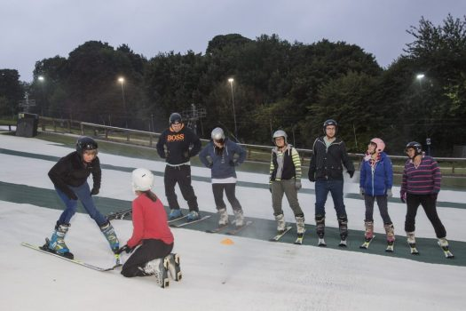 Norfolk Snowsports Club. Photo Courtesy of Ridestore Magazine. A Quick Guide to Indoor Skiing & Dry Slopes In The UK.