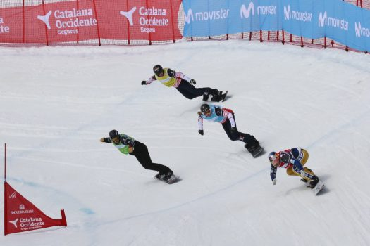 World Cup FIS Snowboard Cross at Baqueira. Photo: Baqueira Beret. Baqueira Beret has closed its third best season in the decade.