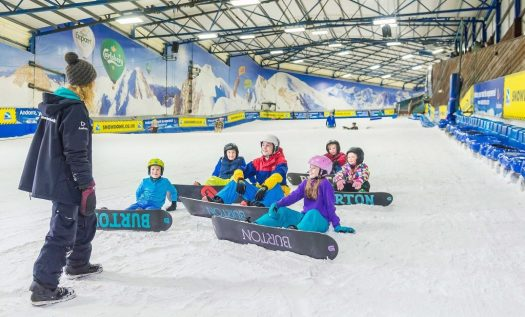 SnowDome in Tamworth. Photo courtesy of Ridestore Magazine. A Quick Guide to Indoor Skiing & Dry Slopes In The UK.